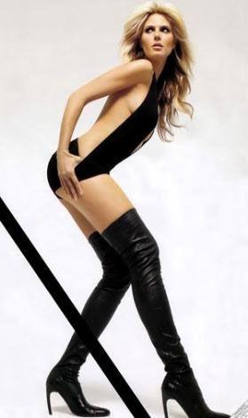 Heidi Klum'un bacakları: 1 milyon 150 bin $ (2 milyon 860 bin YTL)